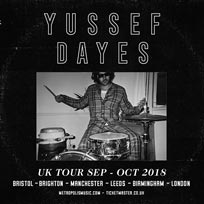 Yussef Dayes at Scala on Tuesday 2nd October 2018