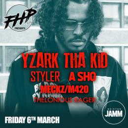 Yzark Tha Kid at Brixton Jamm on Friday 6th March 2020