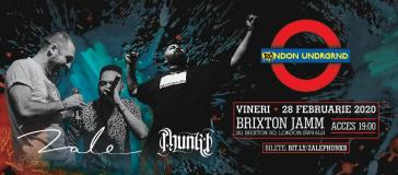 ZALE & Phunk B at Brixton Jamm on Friday 28th February 2020