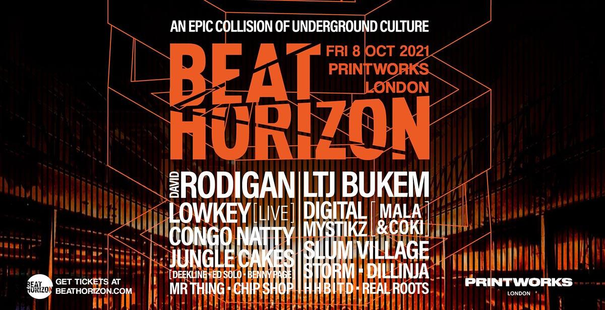 Beat Horizon at Printworks London