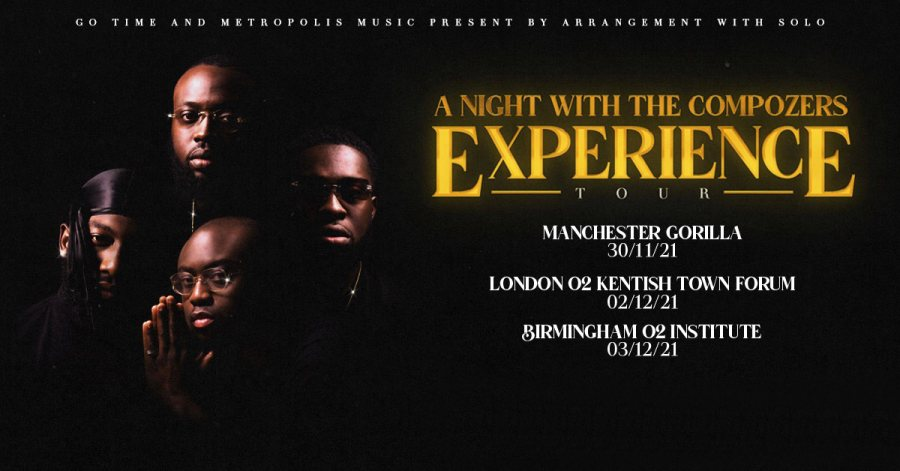 A Night With The Compozers at The Forum on Thu 2nd December 2021 Flyer