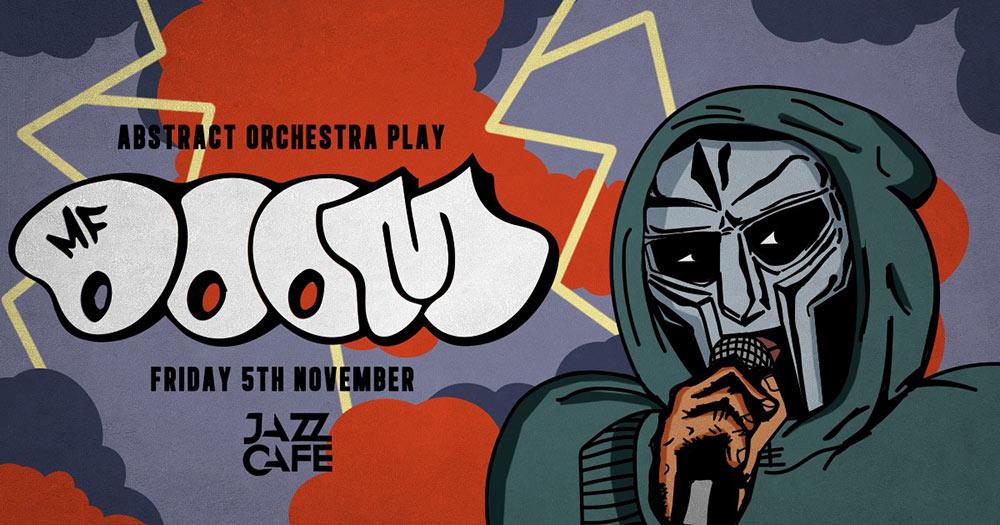 ABSTRACT ORCHESTRA PLAY DOOM at Jazz Cafe on Fri 5th November 2021 Flyer