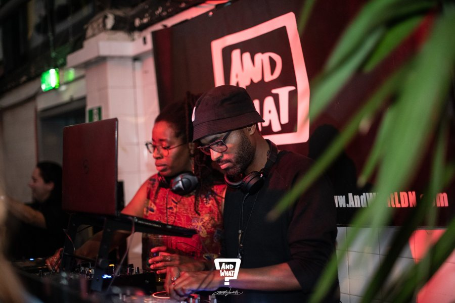 And What? Producer's Social at Grow Hackney on Sat 22nd February 2020 Flyer