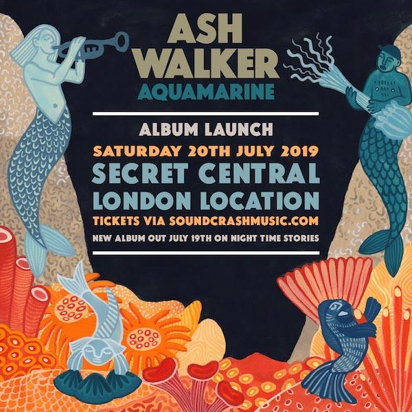 Ash Walker at Secret Location on Sat 20th July 2019 Flyer