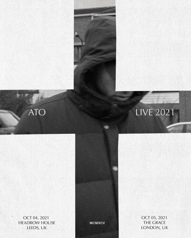 ATO at The Grace on Tue 5th October 2021 Flyer