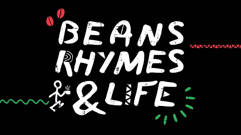 Beans, Rhymes & Life at Stantons Coffee House on Sun 13th October 2019 Flyer
