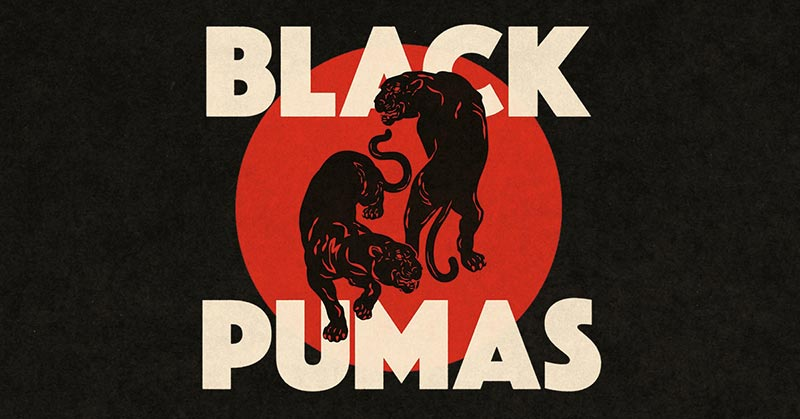 Black Pumas at Islington Assembly Hall on Fri 7th February 2020 Flyer