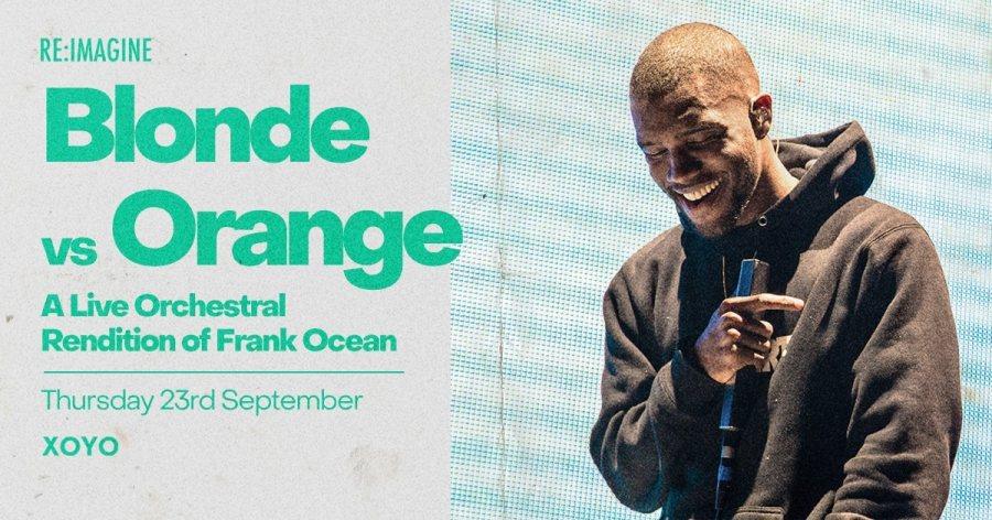 Blond vs Orange at XOYO on Thu 23rd September 2021 Flyer