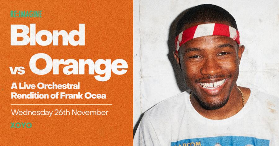 Blond vs Orange at XOYO on Fri 26th November 2021 Flyer