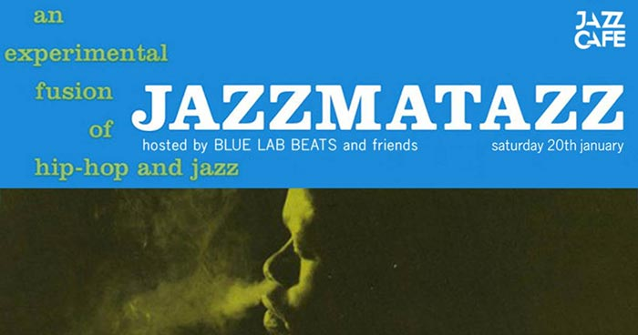 The Sounds Of Jazzmatazz at Jazz Cafe on Sat 20th January 2018 Flyer