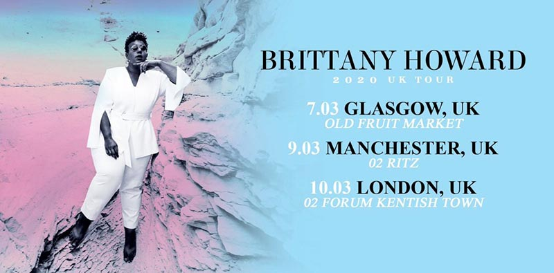 Brittany Howard at The Forum on Tue 10th March 2020 Flyer