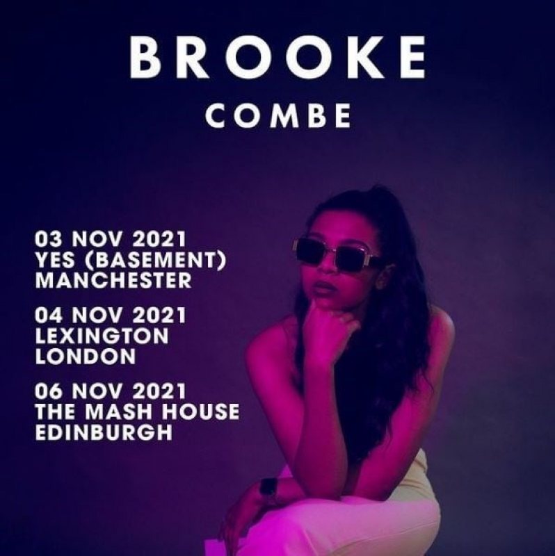 Brooke Combe at The Lexington on Thu 4th November 2021 Flyer