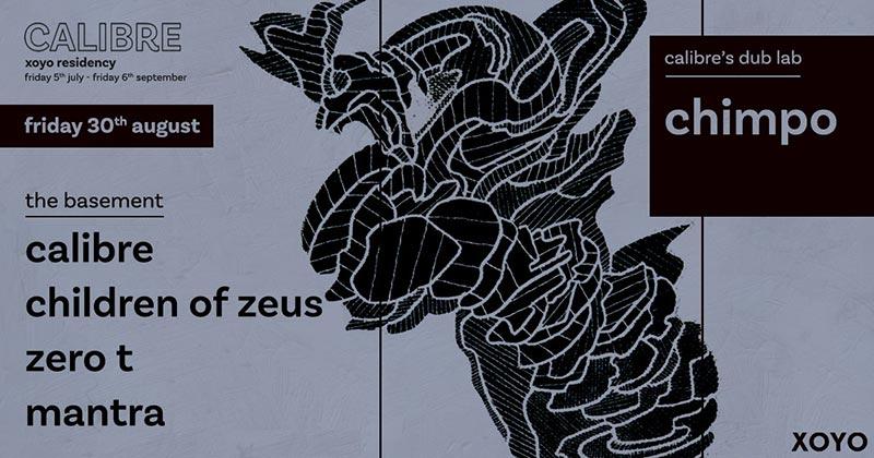 Children of Zeus at XOYO on Fri 30th August 2019 Flyer