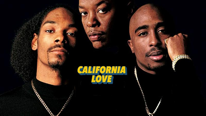 California Love at Big Chill Bar on Sat 31st August 2019 Flyer
