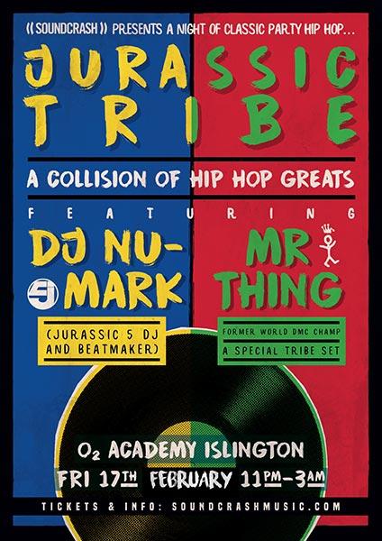 DJ Nu-Mark + Mr Thing at Islington Academy on Fri 17th February 2017 Flyer