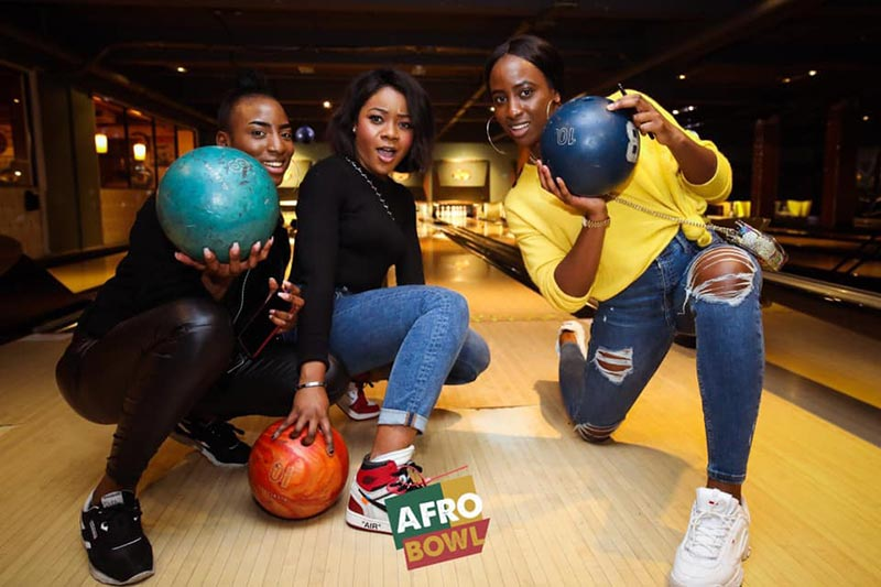 AFROBowl at Bloomsbury Bowl on Fri 16th August 2019 Flyer