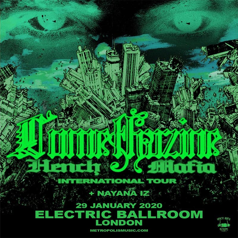 Comethazine at Electric Ballroom on Wed 29th January 2020 Flyer