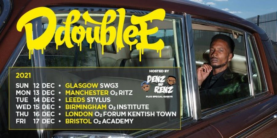 D Double E at The Forum on Thu 16th December 2021 Flyer