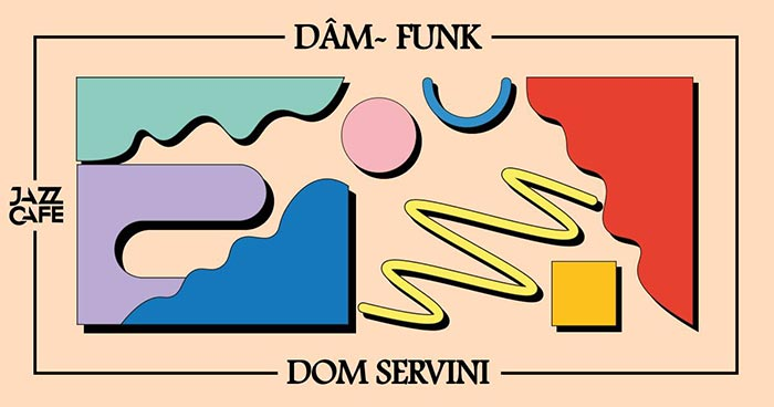Dâm-Funk at Jazz Cafe on Fri 3rd August 2018 Flyer
