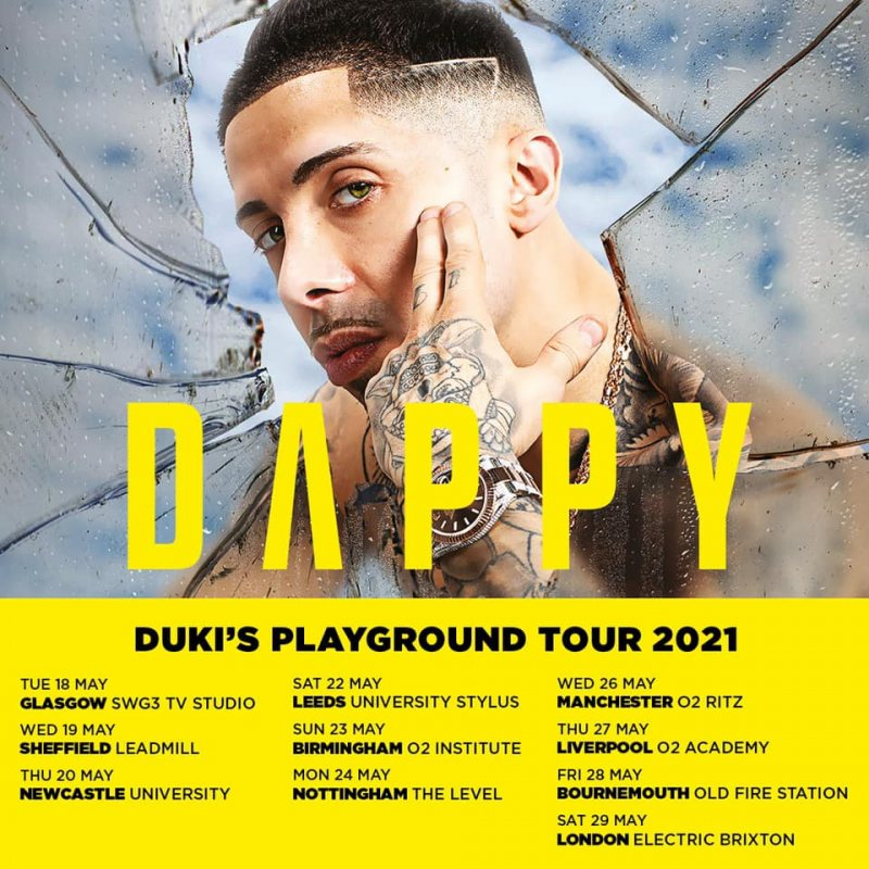 Dappy at Electric Brixton on Sat 29th May 2021 Flyer