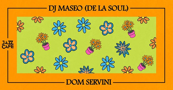DJ Maseo at Jazz Cafe on Fri 15th June 2018 Flyer