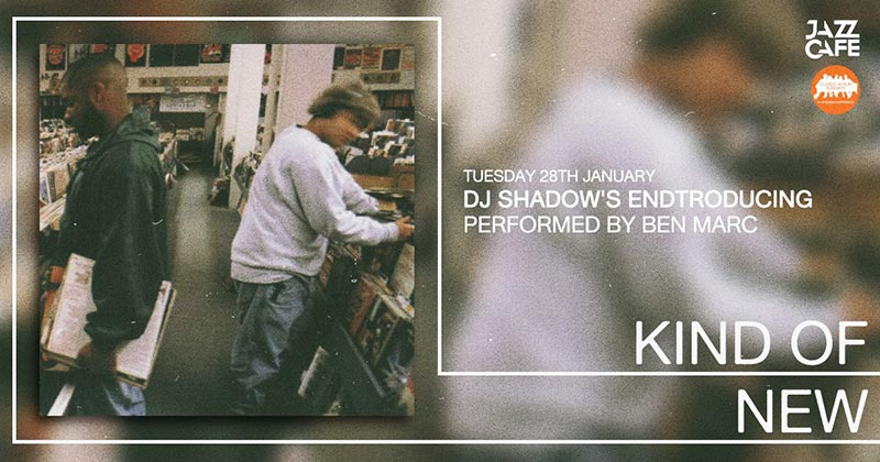 Kind of New at Jazz Cafe on Tue 28th January 2020 Flyer