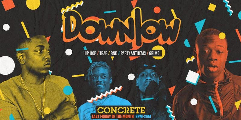 Downlow at Concrete on Fri 24th May 2019 Flyer
