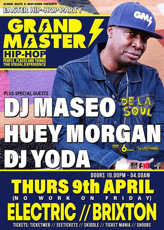 Easter Bank Holiday Hip Hop Party  at Electric Brixton on Thu 9th April 2020 Flyer