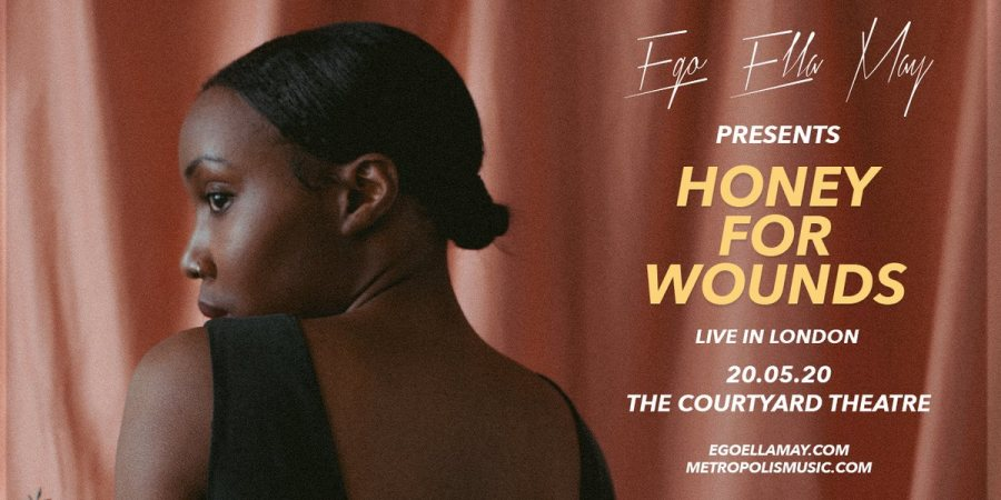 Ego Ella May at The Courtyard Theatre on Wed 20th May 2020 Flyer