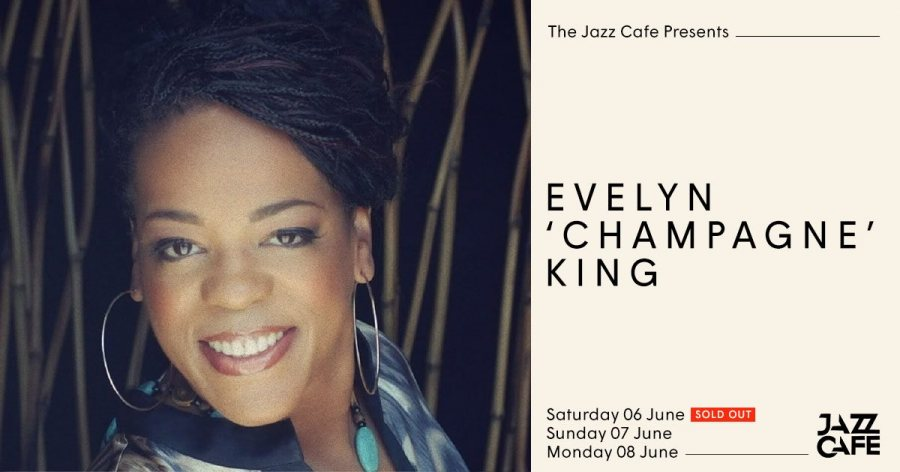 Evelyn Champagne King at Jazz Cafe on Sat 6th June 2020 Flyer