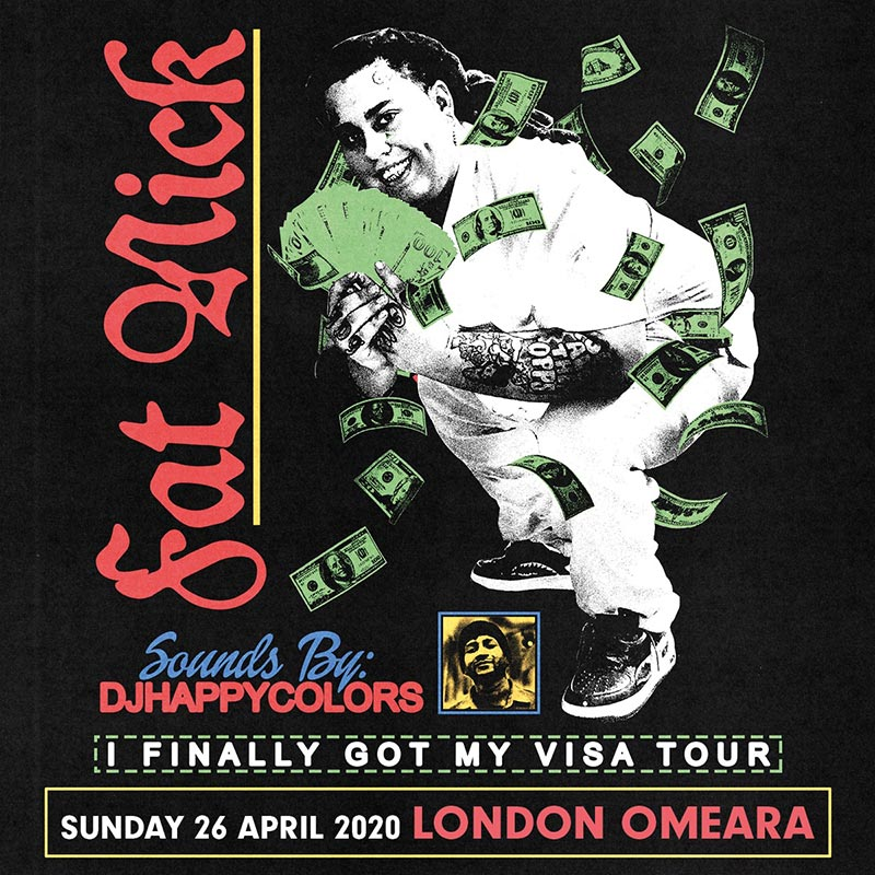 Fat Nick at Omeara on Sun 26th April 2020 Flyer