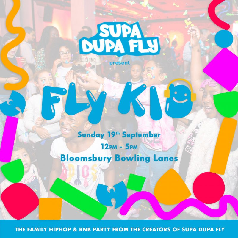 Fly Kid at Bloomsbury Bowl on Sun 19th September 2021 Flyer