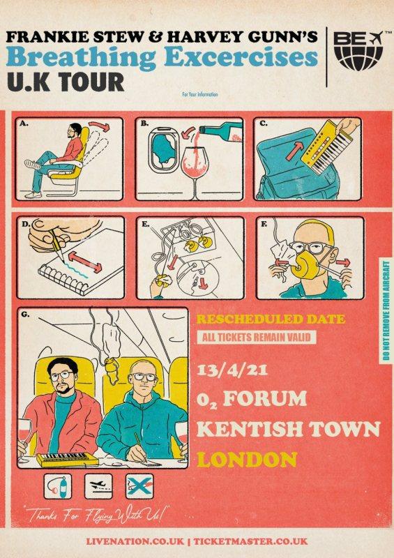 Frankie Stew & Harvey Gunn at The Forum on Fri 17th September 2021 Flyer