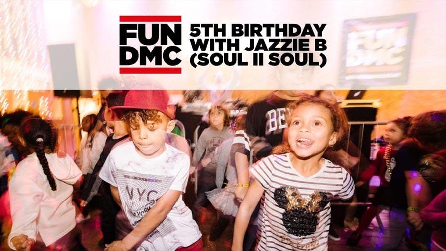 FUN DMC - 5th Birthday Party at Colours Hoxton on Sun 26th January 2020 Flyer