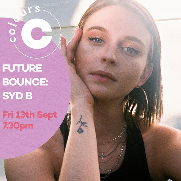 Future Bounce powered by New Age at Colours Hoxton on Fri 13th September 2019 Flyer