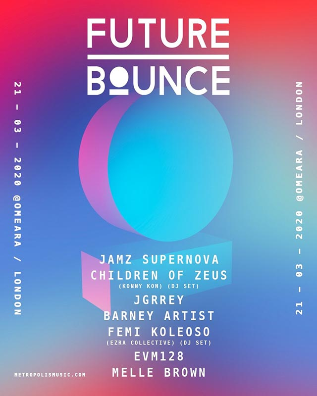 Future Bounce at Omeara on Sat 21st March 2020 Flyer