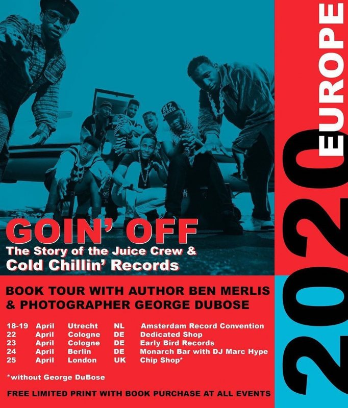 Goin' Off - The Story of the Juice Crew at Chip Shop BXTN on Sat 25th April 2020 Flyer