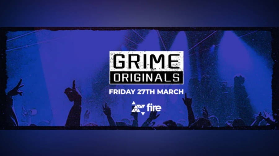 Grime Originals at Fire & Lightbox Complex on Fri 27th March 2020 Flyer