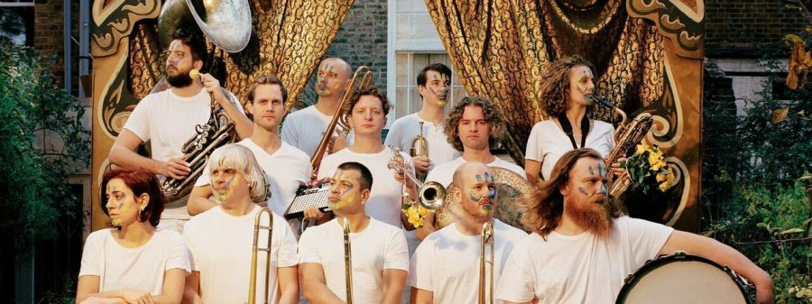 Hackney Colliery Band at Woolwich Works on Thu 14th October 2021 Flyer