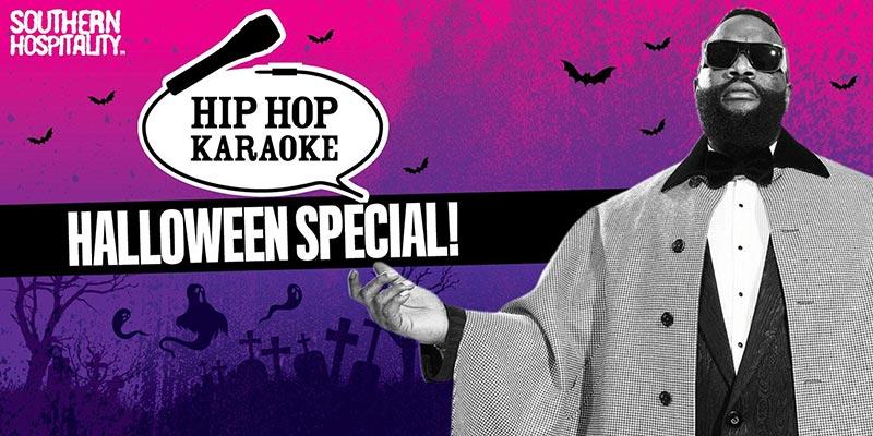 Hip Hop Karaoke at Queen of Hoxton on Thu 31st October 2019 Flyer