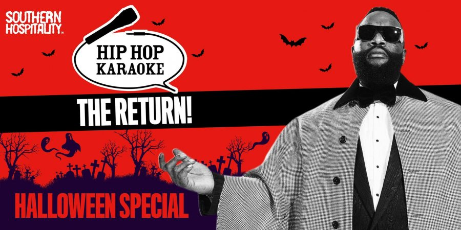 Hip Hop Karaoke at Queen of Hoxton on Thu 28th October 2021 Flyer