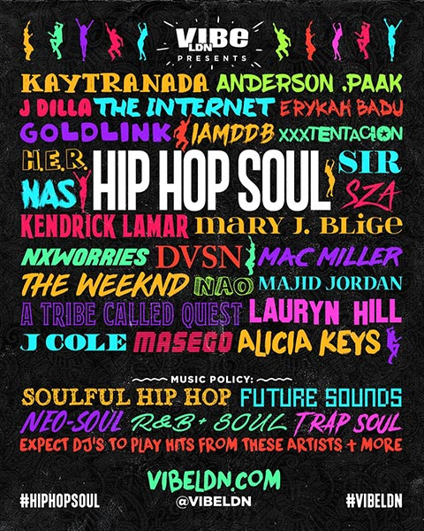 Hip Hop SOUL at Junction House on Sat 19th October 2019 Flyer