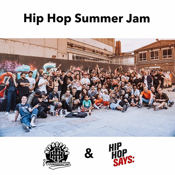 Hip Hop Summer Jam at The Silver Building on Sat 17th August 2019 Flyer