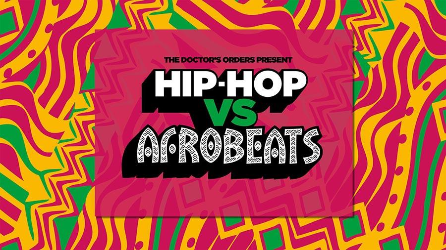 Hip-Hop vs Afrobeats at Concrete on Sat 18th January 2020 Flyer
