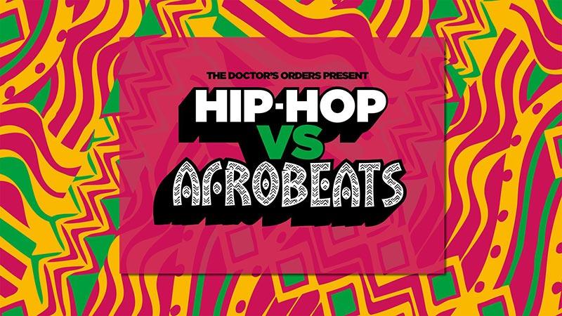 Hip-Hop vs Afrobeats at Concrete on Sat 21st December 2019 Flyer