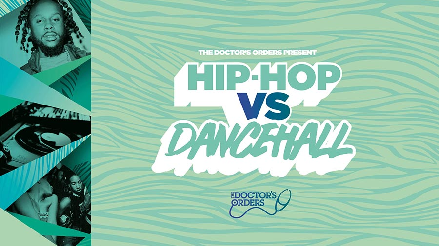 Hip-Hop vs Dancehall at Trapeze on Fri 14th February 2020 Flyer
