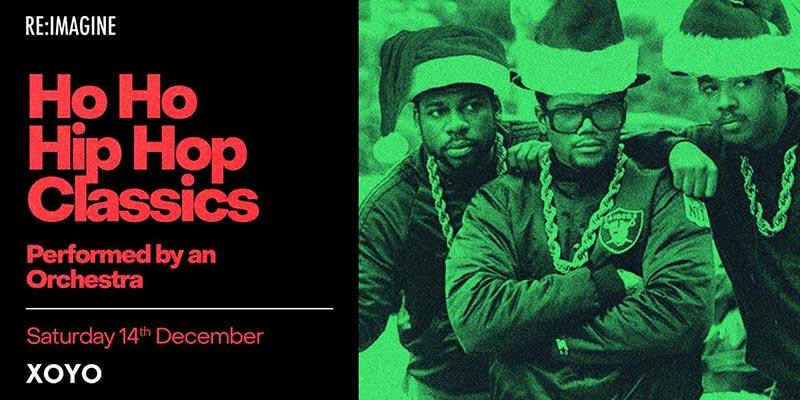 Ho Ho Hip Hop Classics at XOYO on Sat 14th December 2019 Flyer