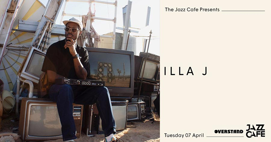 Illa J at Jazz Cafe on Sat 4th April 2020 Flyer