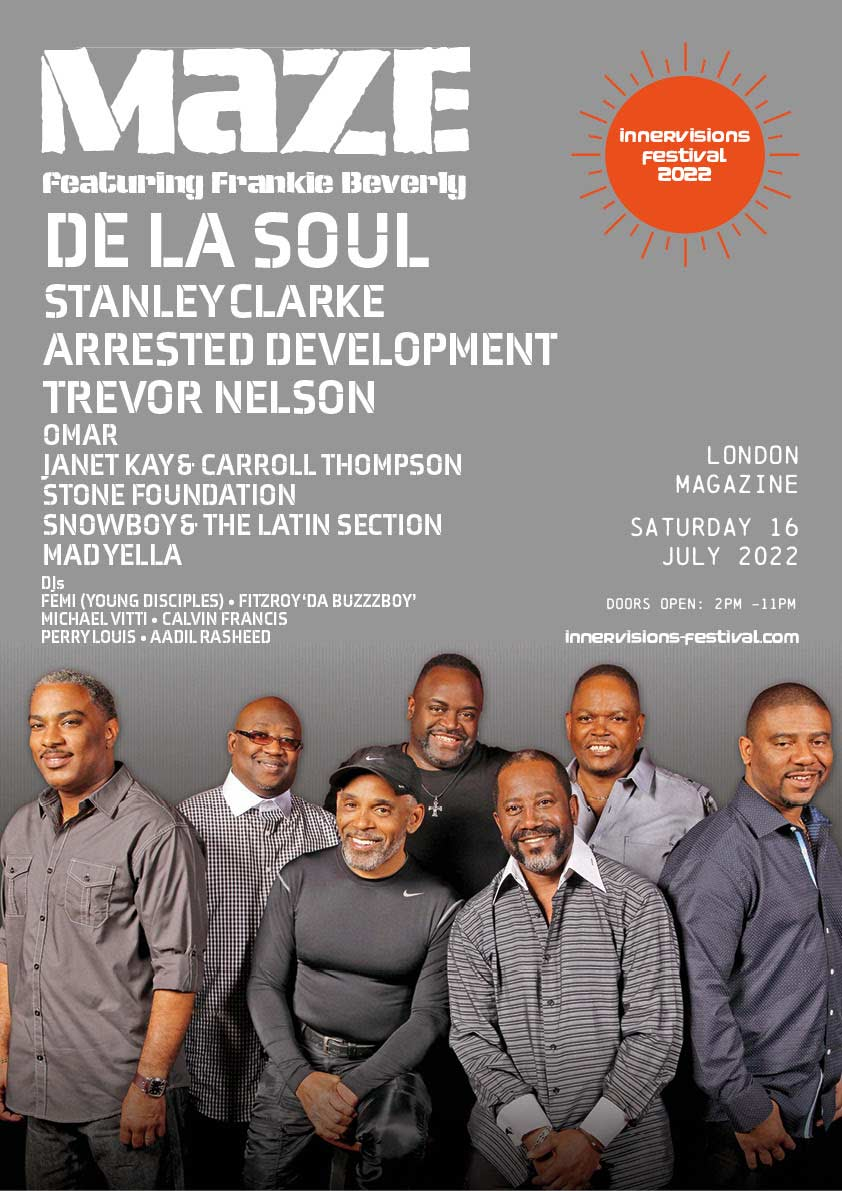 Innervisions Festival at Magazine London on Sat 16th July 2022 Flyer