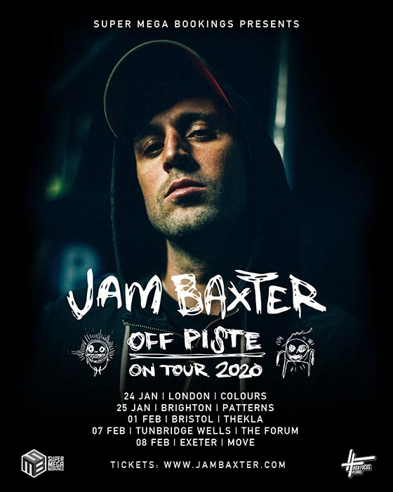 Jam Baxter at Colours Hoxton on Fri 24th January 2020 Flyer